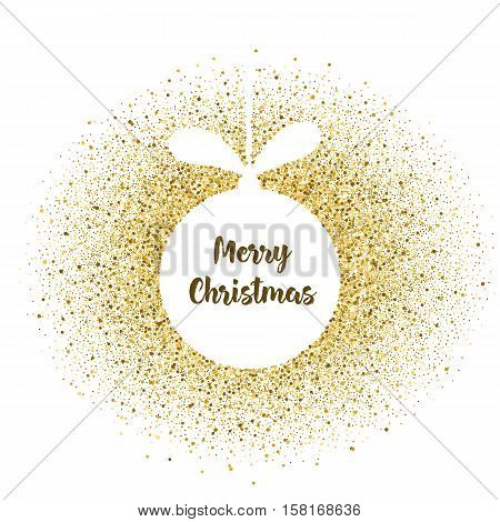 Christmas Ball Gold