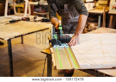 Craftsman working poster