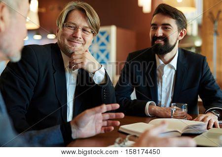 Investors talking