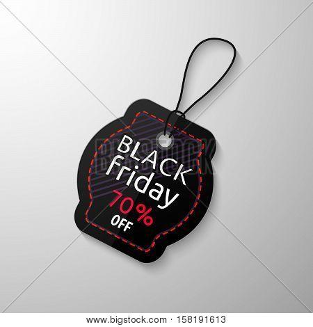 Black Friday Sale Tag