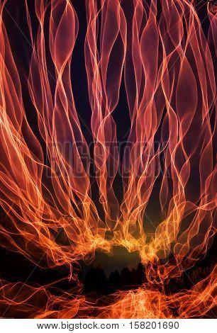 The light line night orange - Freezelight