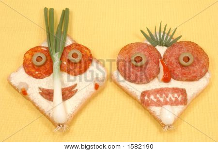 Fresh Sandwitch Faces