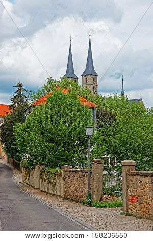 Church Of St Michael In Bamberg Of Upper Franconia Germany