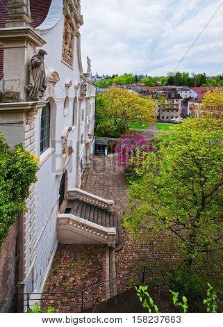 Convent School Of Holy Grave In Baden Baden Germany