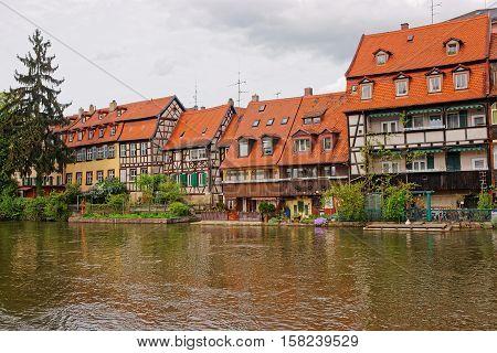 Fishermen Houses And Regnitz River Little Venice Bamberg