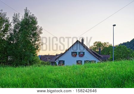 House In Turbenthal Of Winterthur In Zurich Canton Of Switzerland