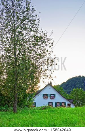 House In Turbenthal In Winterthur In Zurich Canton Of Switzerland