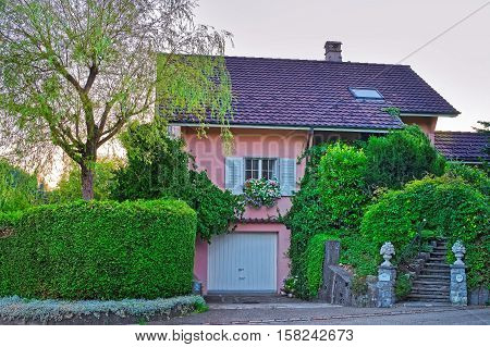 House Of Turbenthal In Winterthur In Zurich Canton Of Switzerland