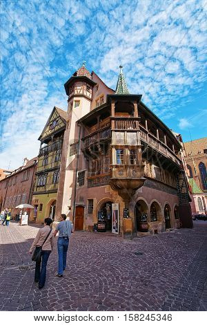 Maison Pfister In Colmar In Alsace France