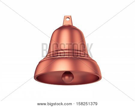 Bell Isolated on White Background, 3D rendering