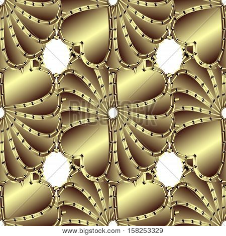 Creative patterned drawing in the form of square tiles (vector EPS 10)