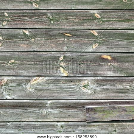 Barn Wooden Wall Planking Texture. Frame Square Grey Wood Background