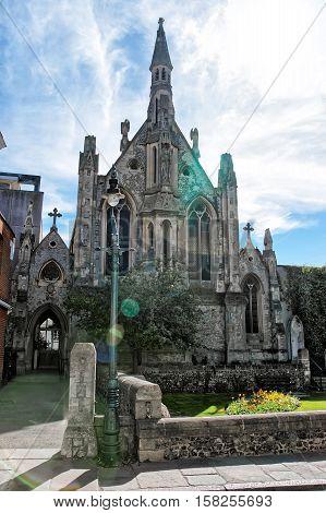 St Thomas Church In Canterbury In Kent Of Uk