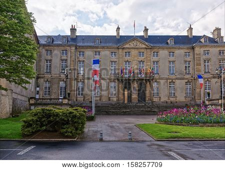 Town Hall In Bayeux In Calvados Normandy France