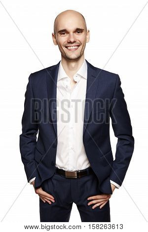 Smiling Man In Sport Suit