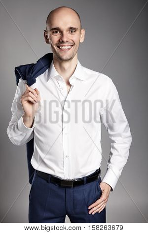 Smiling Confident Man