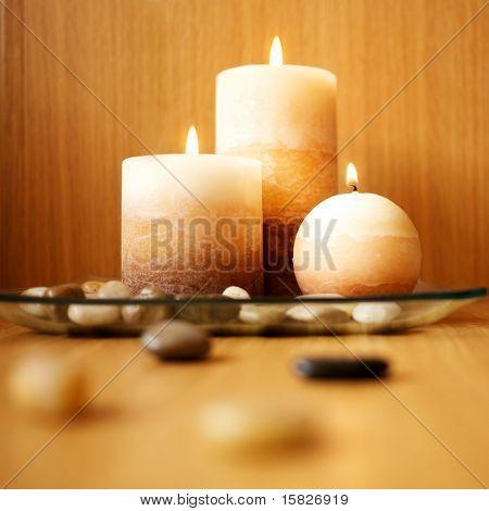 schöne Kerze design