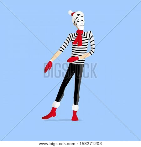 Winter Mime Performance
