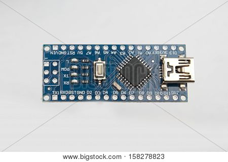 Nano Board On White Background