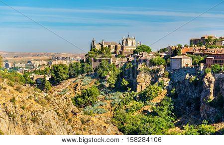 View of the Monastery of San Juan de los Reyes in Toledo - Spain
