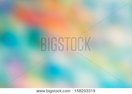 Abstract colorful blurry background warm green and red orange colors tone cinematic effect