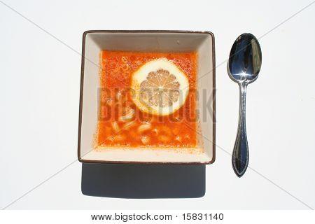 Soup With Lemon