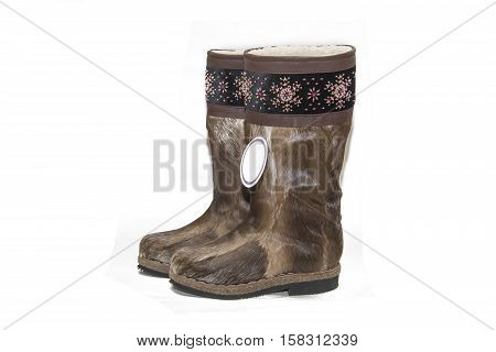 Unty - Traditional Footwear Of The Peoples Of The Far North.
