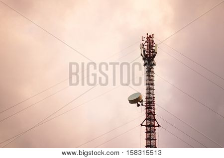 Pole for signal. Pole for signaling in wireless communications.