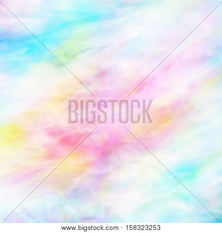 Silky abstract background in pink and blue pastel colors