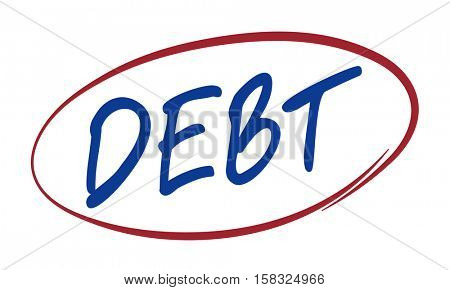 Debt Finance Planning Loan Money Mortgage Concept