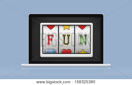 Fun Amusement Enjoyment Happy Hobbies Concept