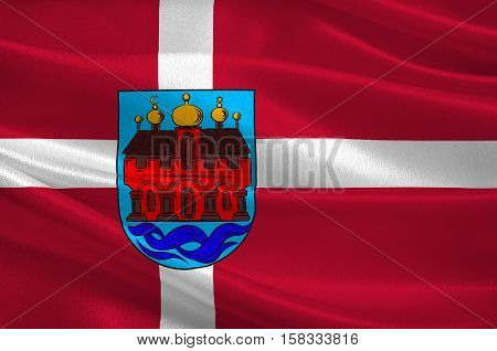 Flag of Aalborg is a municipality in Region Nordjylland on the Jutland peninsula in northern Denmark
