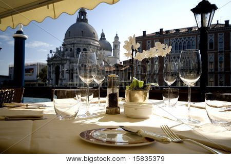 Dinner in Venice