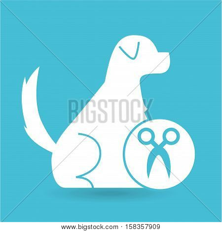 veterinary clinic concept gormming vector illustration eps 10