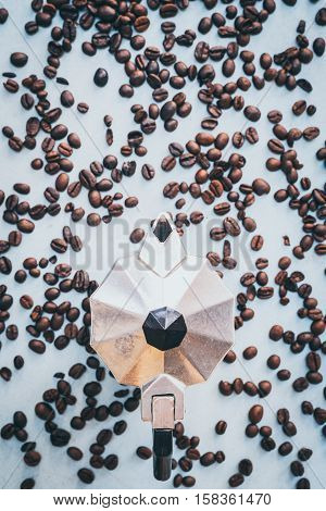 Fresh roaster coffee beans ready for the morning