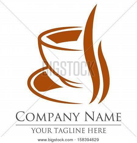 Cofe house logo template design, eps 10