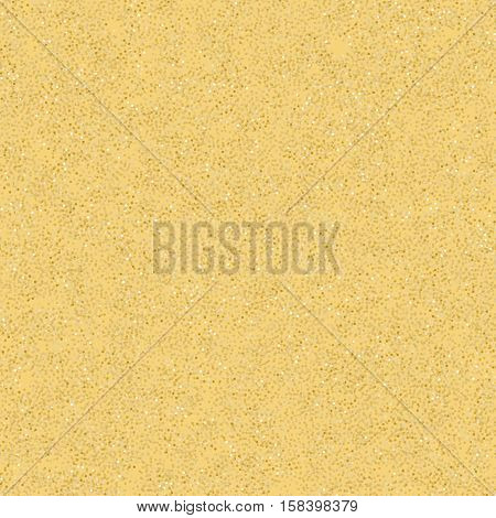 Sand seamless vector background, endless pattern for holiday and vacation design