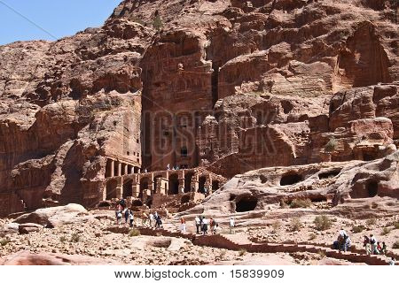Petra In Jordan - City Carved Out Of The Rock
