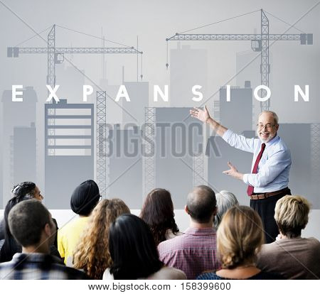 Business Development Innovation Expansion Concept