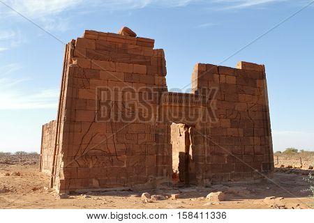 The Temple of Naga in the Sahara of Sudan
