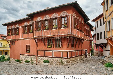 House In Old Plovdiv, Bulgaria