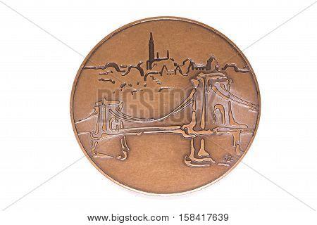 Budapest 1998 Athletics European Championships Participation Medal, Reverse. Kouvola, Finland 06.09.
