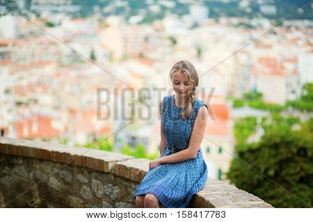 Young In The City Of Cannes Onle Suquet Hill