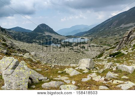 Bulgaria, Bansko, Kresna, Blagoevgrad region,  Pirin, Pirin Mountain, mountain, landscape, Panorama, rocks, clouds, Recreation, Tourism, Water, Nature, Trail, Route, outdoor, green, travel, view, destination, sunny, scenery, grass, sun, mountaineering, ba