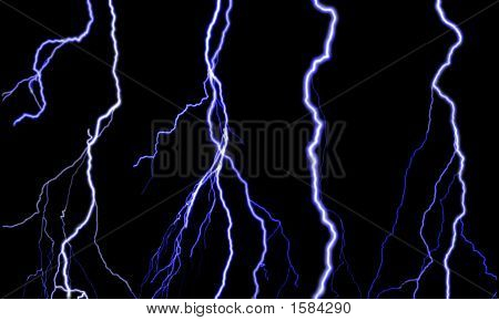 Four Lightning Bolts
