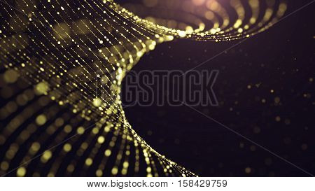 Abstract Gold Background. Glitter Background. New Yaer, Chrismas or Concert background.