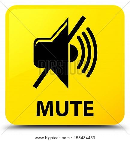 Mute (mute icon) on yellow square button