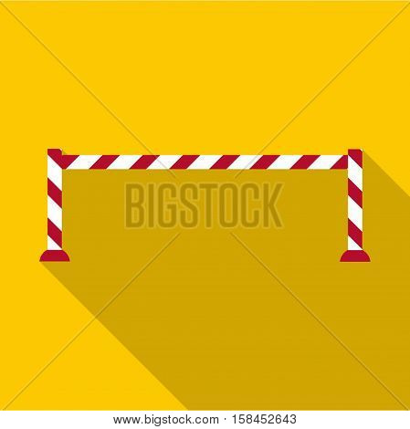 Barrier icon. Flat illustration of barrier vector icon for web design
