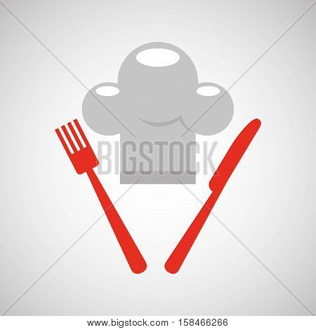 restaurant chef symbol icon vector illustration eps 10