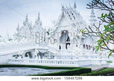 Wat Rong KhunChiangrai Thailand / white tample